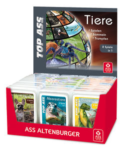 Quartetts Tiere 30er Display