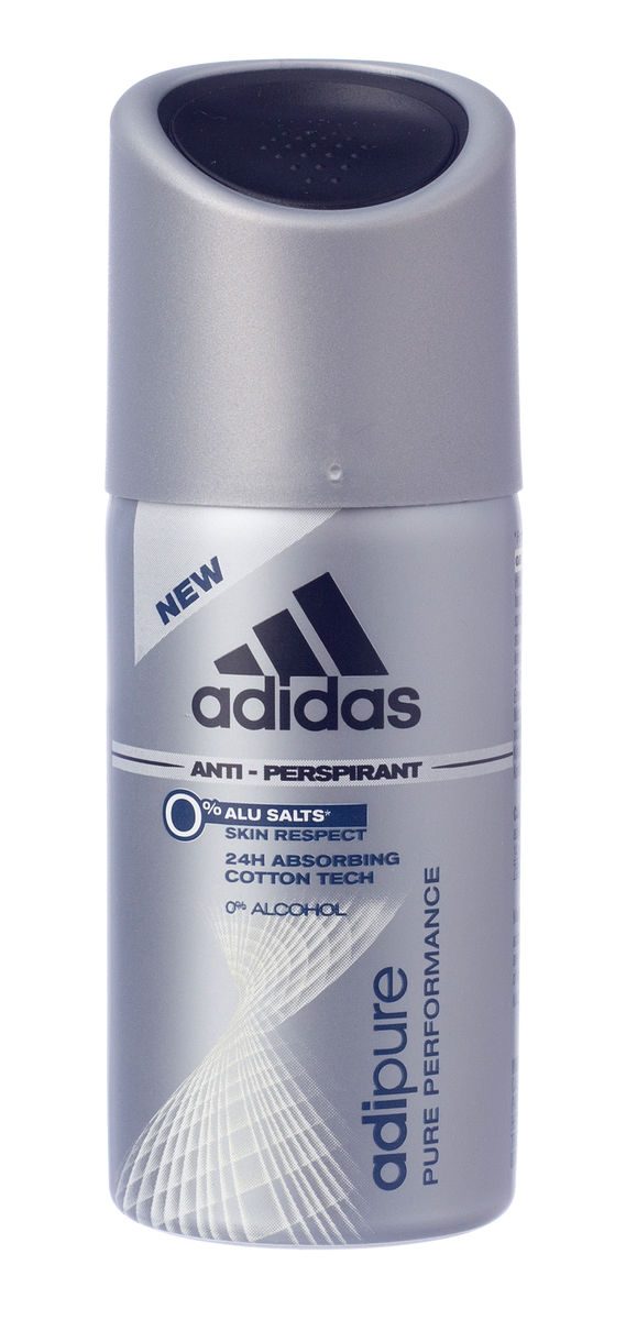 Adidas DEO Spray 35ml Adipure Men ( ohne Alcohol )